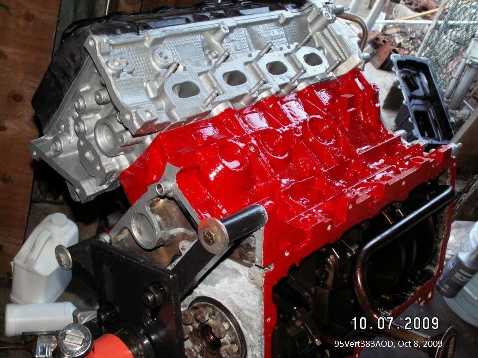 Por  Engine Paint Kit Blue